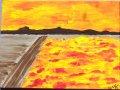 Blumenmeer;Acryl;40x30